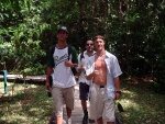Matt Hanin and Simon in the Rainforest, Cape Tribulation