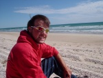 Jeff at the Beach, Coorong