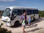 Esther by the bus, Coorong