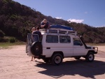 4x4 on the Beach, Fraser Island