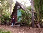 Scott at Geoff's Place hostel,Magnetic Island