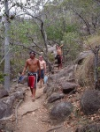 Hiking to Balding Bay, Magnetic Island
