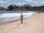 Jeff at Balding Bay, Magnetic Island