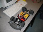 Car chassis that must be modified